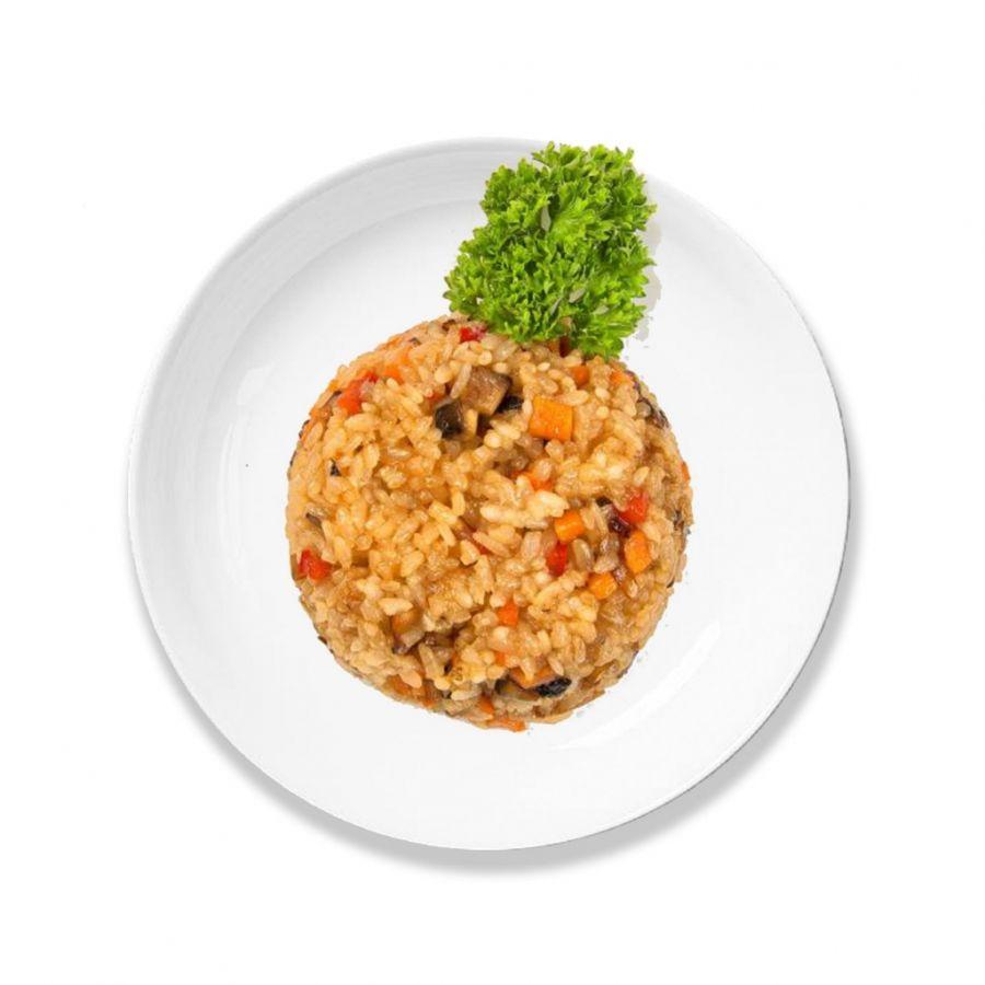 Рис с овощами 100гр